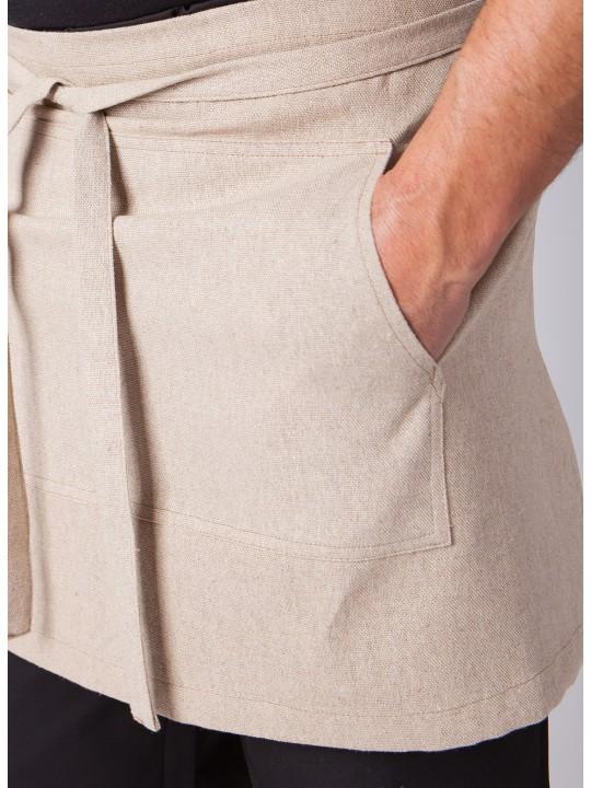 Avental Cintura em linho