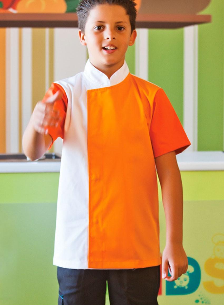 Jaleca Kids-laranja