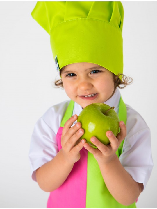 Avental Kids Granny Smith