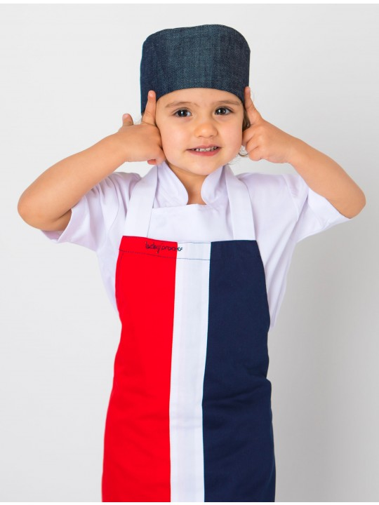 Avental Kids Red & Blue