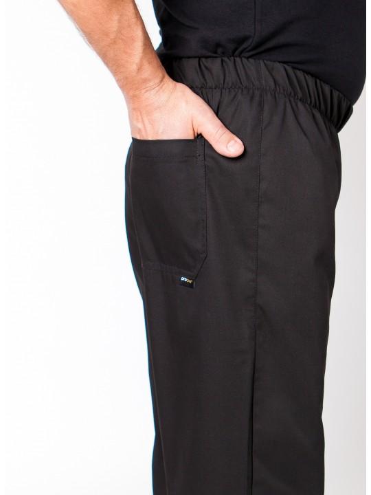 Calças de elástico